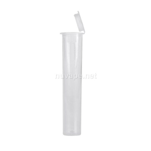 Child Resistant Vape Cartridge Carrying Tubes Clear 72mm (Fits 1mL & 0.5mL Cartridges)